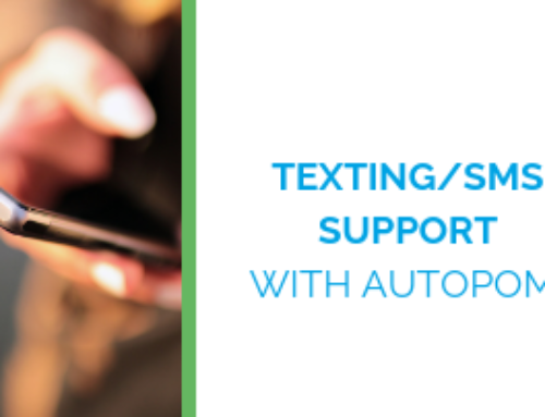 How autopom! Is Improving Customer Service and Automotive Peace-of-Mind (autopom!) with Texting/SMS