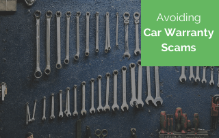 avoiding car warranty scams