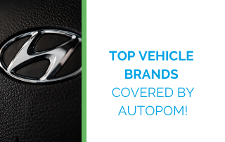 top vehicle brands covered by autopom